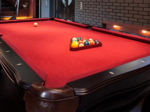 pool table installation Hartford ct